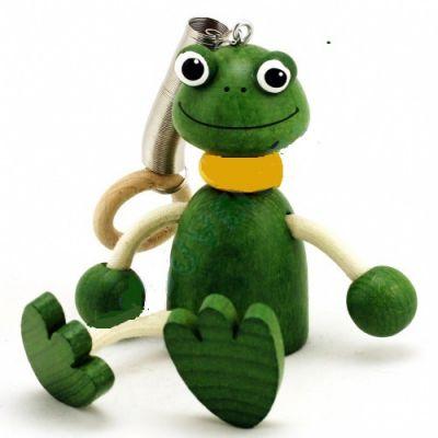 Zébulos Mr Grenouille poupée à ressort