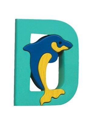 D-dauphin Lettres bois, déco et puzzles