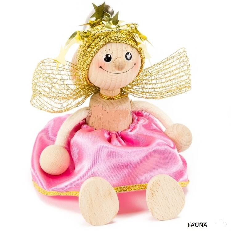 Famille Zébulos : Ange poupée à ressort