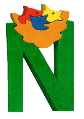 N -nid. Lettres bois, déco et puzzles
