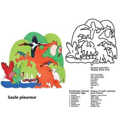 Puzzle Oiseaux aquatiques d'Europe