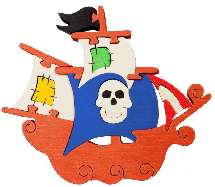 Puzzle Bateau pirate