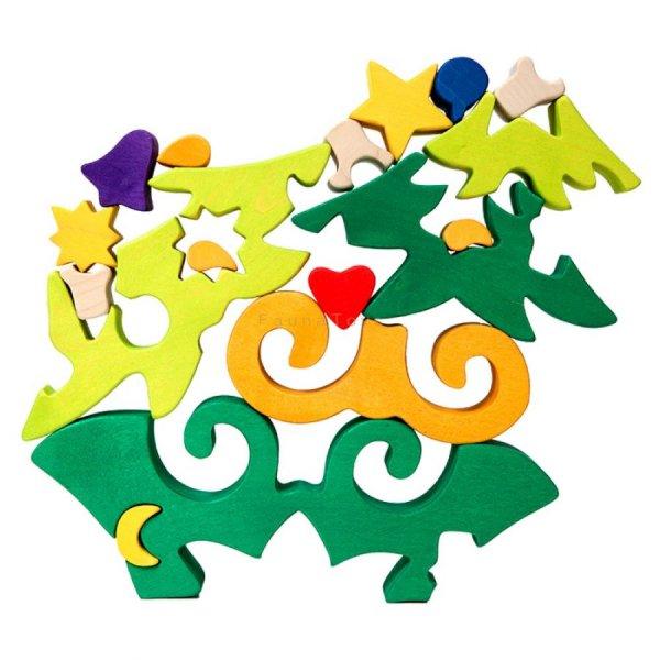 Puzzle Sapin de noël - Jouet et décoration