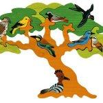 Puzzle Les oiseaux migrateurs