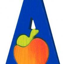 A-abricot.  Lettres bois, déco et puzzles