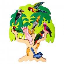 Puzzle Oiseaux d'Australie
