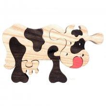Puzzle La vache marron