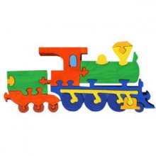 Puzzle Locomotive