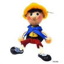 Famille Zébulos : Pinokkio poupée à ressort