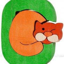 C-chat  Lettres bois, déco et puzzles