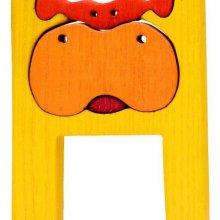 H - hippo Lettres bois, déco et puzzles