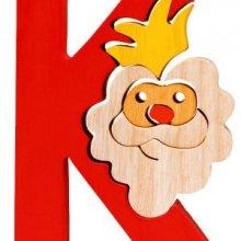 K king. Lettres bois, déco et puzzles