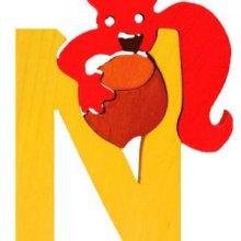 N -noisette. Lettres bois, déco et puzzles