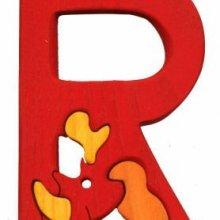 R. rhino Lettres bois, déco et puzzles