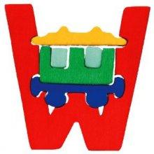 W- wagon  Lettres bois, déco et puzzles