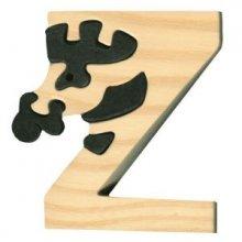 Z- zebre  Lettres bois, déco et puzzles