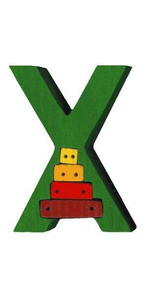 X - xilophone  Lettres bois, déco et puzzles