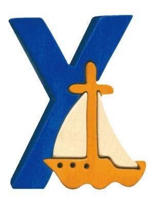 Y- yacht  Lettres bois, déco et puzzles