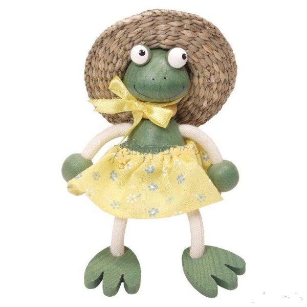Zébulos Mme Grenouille poupée à ressort