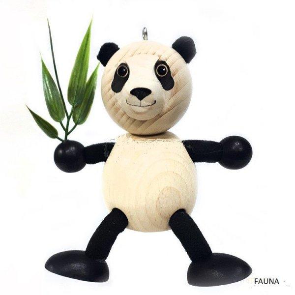 Les Zébulos  :  Panda Poupée ressort